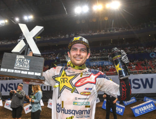 World Supercross Champion Jason Anderson secured for 2019 Monster Energy AUS-X Open Melbourne
