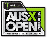 Monster Energy AUS X Open Melbourne Logo